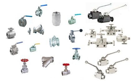 hydraulic ball valves, high pressure ball valves, needle valves, gate valves, globe valves