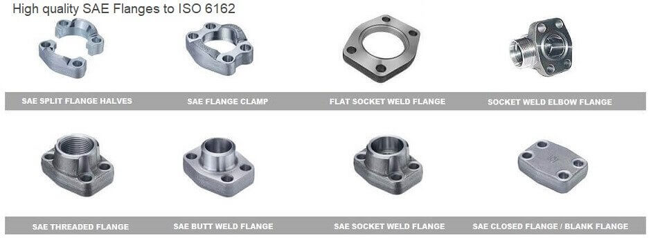 china manufacture of sae flange, code 61 flange, code 62 flange